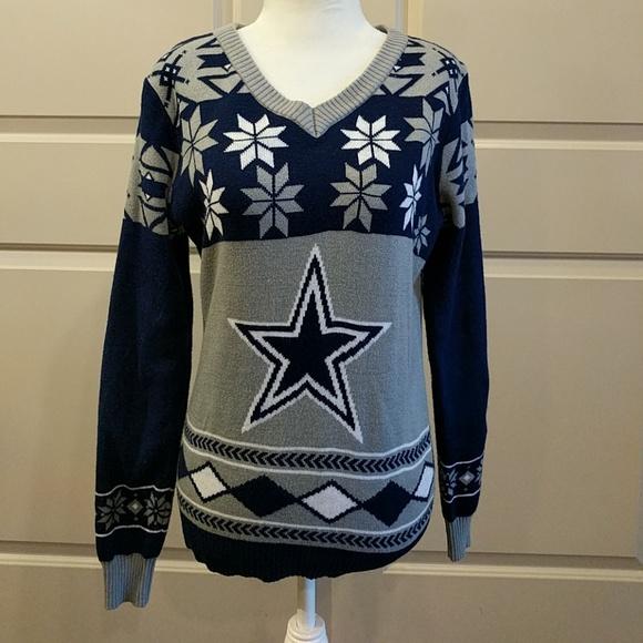 size 40 13ec9 1f922 Dallas Cowboys ugly sweater